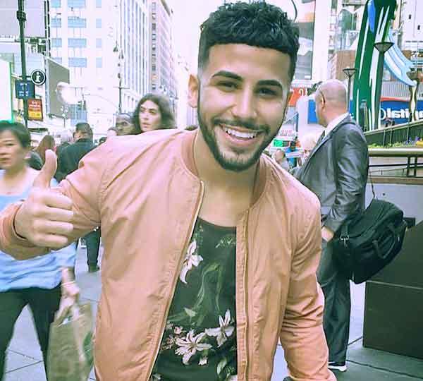 Image of Actor, Adam Saleh is currently single