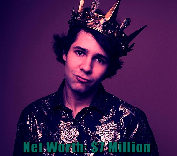 Image of Youtuber, David Dobrik net worth is $7 million