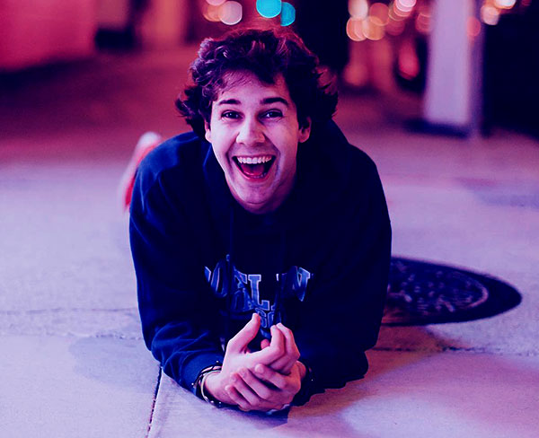 Image of David Dobrik is currently single