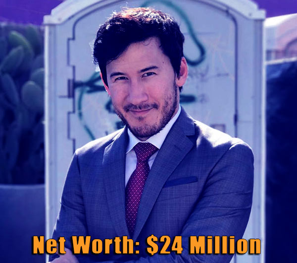 Image of Youtuber, Markiplier net worth is $24 million
