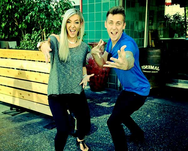 Image of Roman Atwood with his ex-wife Shanna Riley