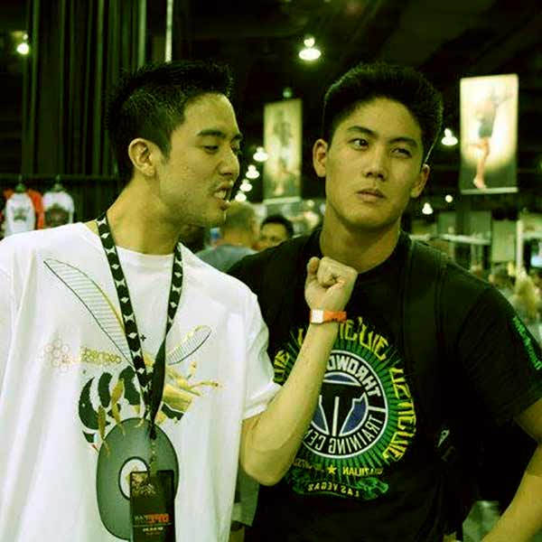 Image of Ryan Higa with his brother Kyle Higa