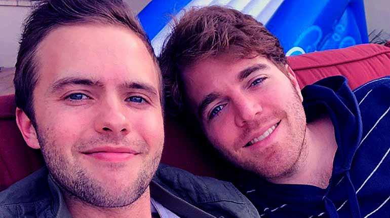 Image of Shane Dawson Is Gay And Dating a Boyfriend Ryland Adams.
