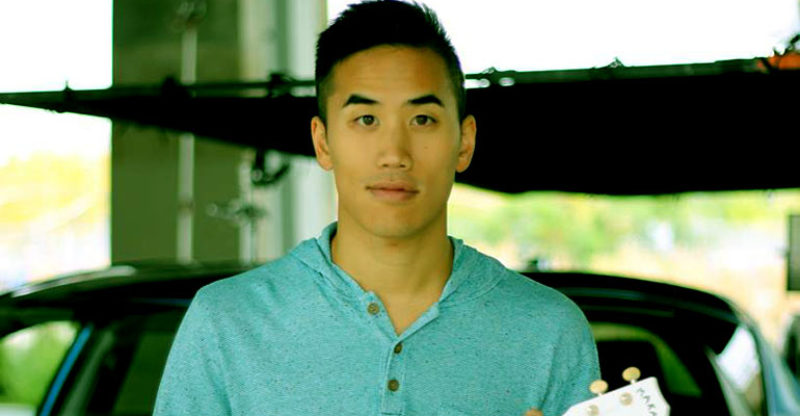 Image of Andrew Huang is Married to wife Essa, and he is not gay.