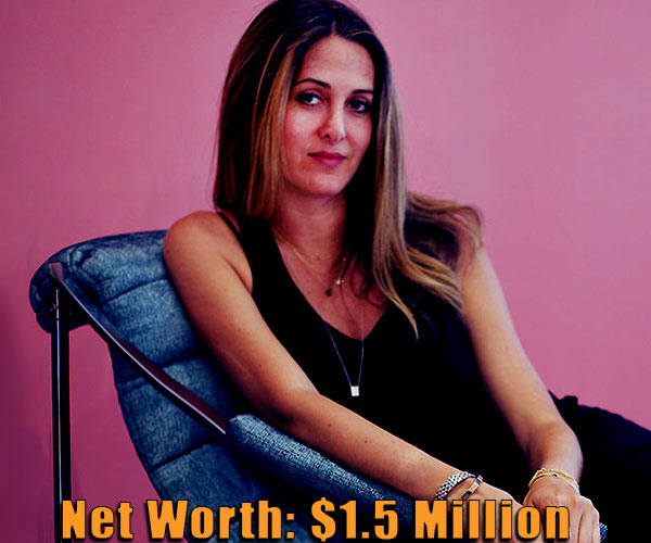 Image of Jewelry designer, Candice Pool net worth is $1.5 million