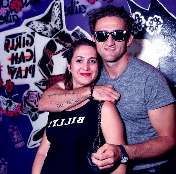 Image of Candice Pool with her ex-husband Casey Neistat