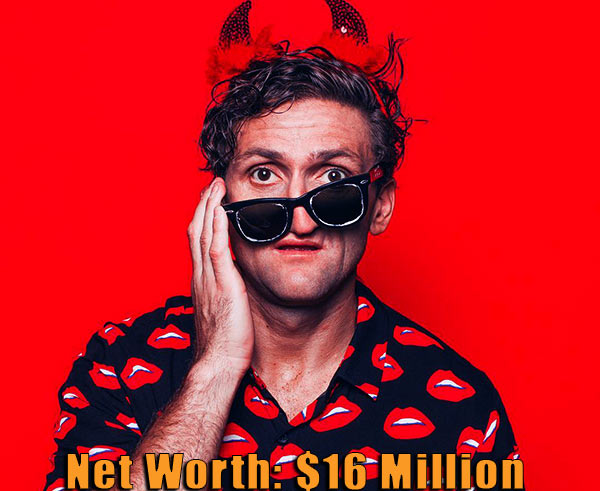 Image of Youtuber, Casey Neistat net worth is $16 million