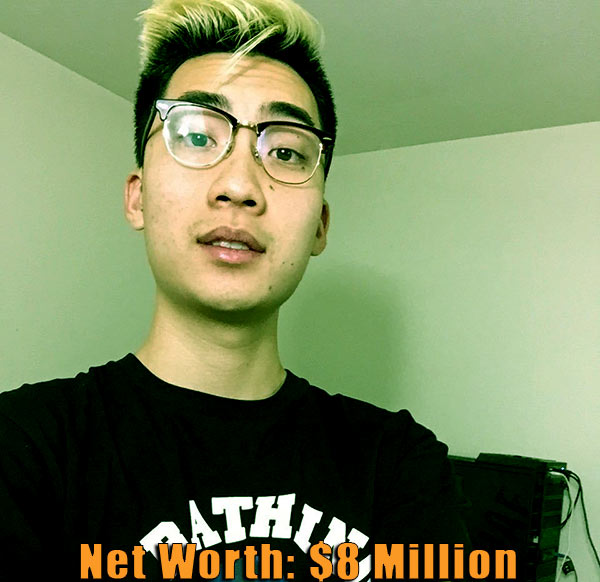 Image of American YouTuber, RiceGum net worth is $8 million