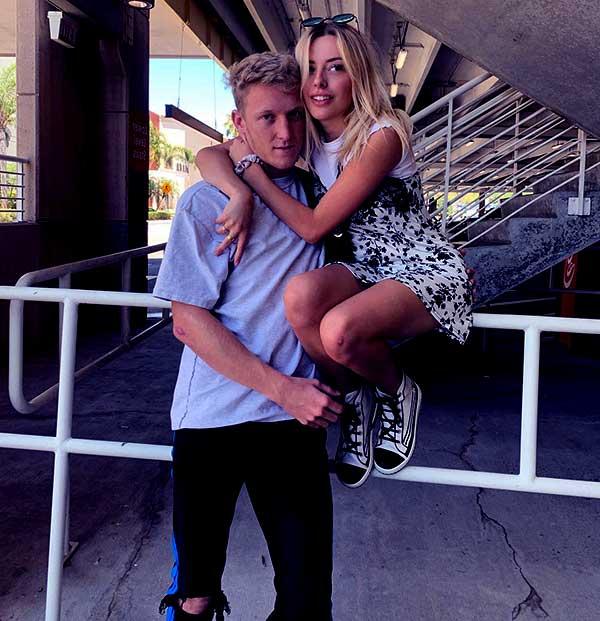 Image of Turner Tenney with his girlfriend Corinna Kopf