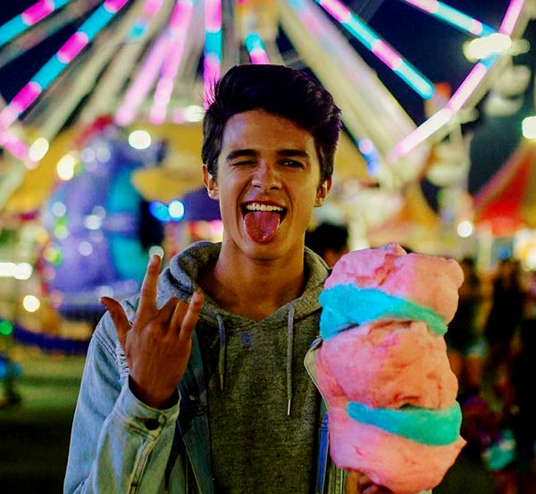 Image of Youtuber, Brent Rivera is not a gay