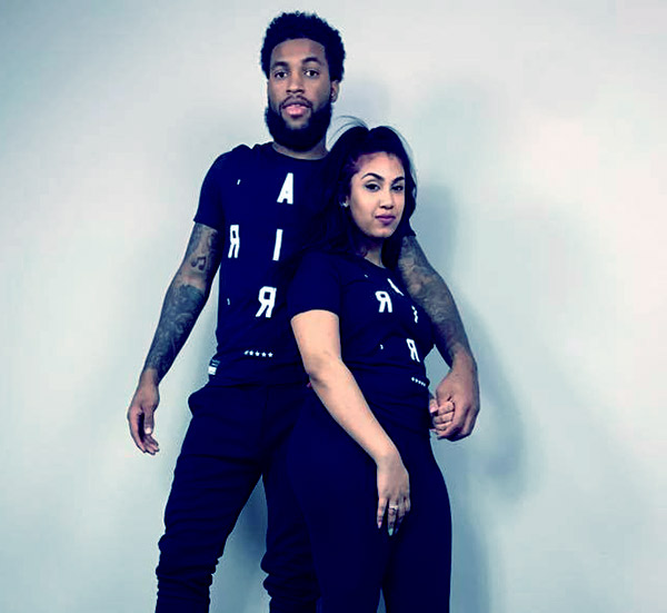 Image of Chris Sails with his ex-wife, Queen Naija