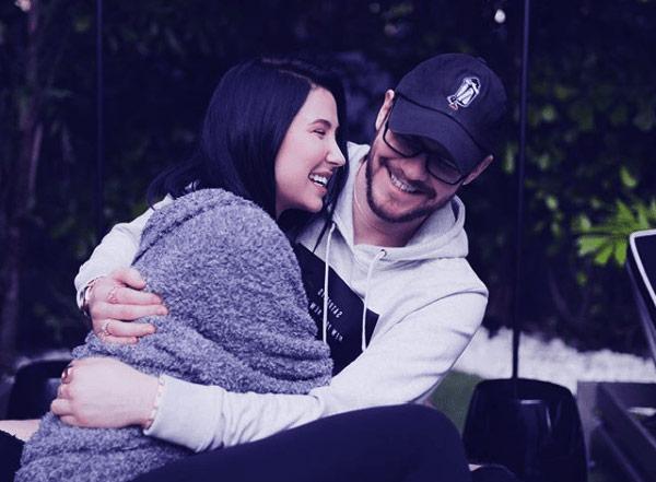Image of Jaclyn Hill with her boyfriend Jordan Farnum.