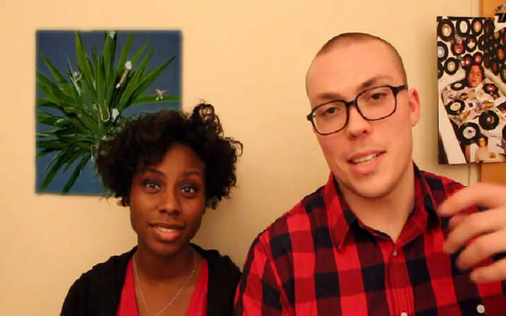 Anthony Fantano and his wife Dominique Boxley