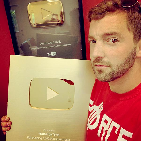 Image of Youtube personality, Andy Schrock