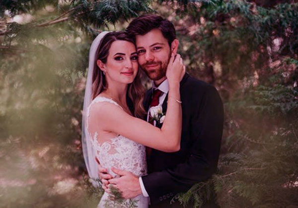 Image of Gibi ASMR with her husband Ben