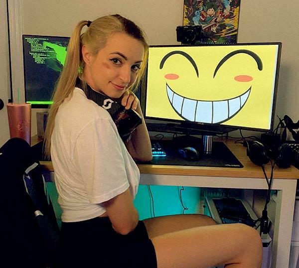 Image of American Youtuber, Gibi ASMR
