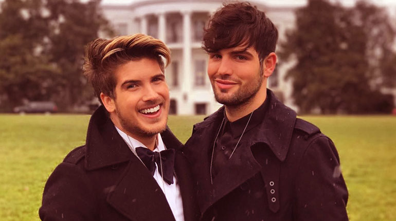 Image of Joey Graceffa is gay and Dating Boyfriend Daniel Preda. Not Married Yet.