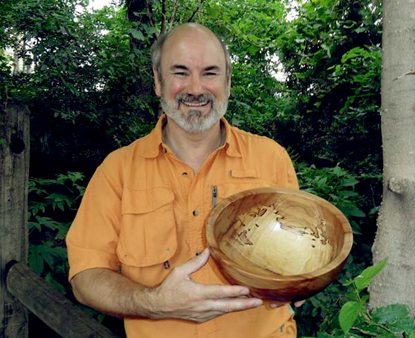 Image of Woodturning expert, Tim Yoder