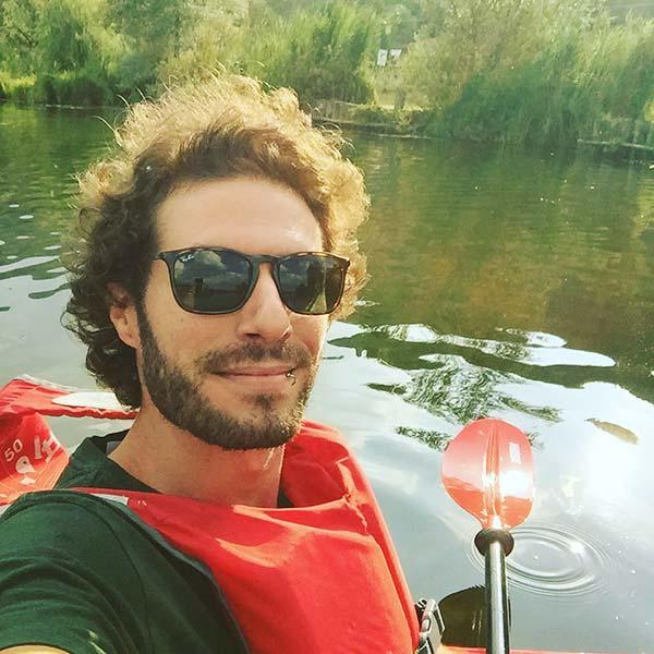 Image of Marzia Bisognin younger brother Davide Bisognin